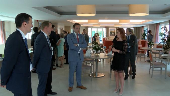 Woonzorgcentrum in ex-luxehotel officieel geopend