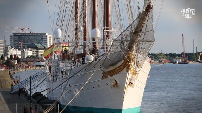Juan Sebastian De Elcano visits Antwerp