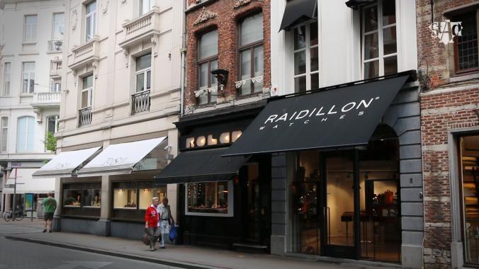 Raidillon opent winkel in Antwerpen