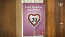 In Antwerpen is 30 de max campage ASTAD TV Koen Kennis verkeerscampage zone 30